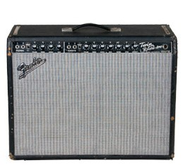 FENDER TWIN REVERB BLACK FACE (VINTAGE) - COMBO