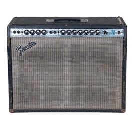 FENDER TWIN REVERB SILVER FACE ( VINTAGE ) - COMBO